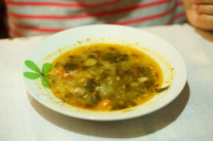 Veggies soup