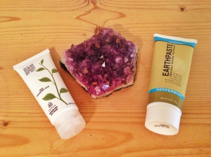 Vegan Sunsrcreen and Vegan Toothpaste